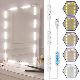 Led Vanity Mirror Lights Kit, SELFILA Hollywood Style Vanity Make Up Light, 11ft with Dimmable Co...   Amazon (US)