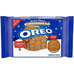 Oreo Limited Edition Gingerbread Sandwich Cookies - 12.2oz   Target