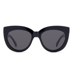 ALISA - BLACK + GREY POLARIZED | DIFF Eyewear