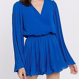 Endless Rose Chiffon Pleated Wrap Romper | Express