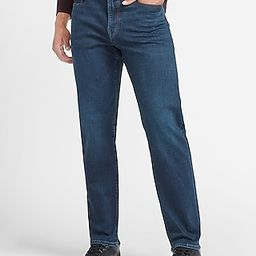 Relaxed Dark Wash Tough Hyper Stretch Jeans | Express