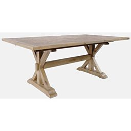 Bryon Extendable Pine Solid Wood Dining Table | Wayfair North America