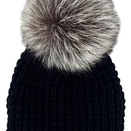 Genuine Fox Pompom Hat   Nordstrom