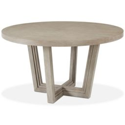 Modern Coastal Round Dining Table   Macys (US)