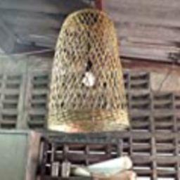 Kitchen pendant light bamboo pendant light fixture, kitchen island light, bamboo lamp, wicker lamp,    Amazon (US)