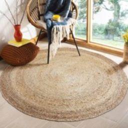 Custom Round Brown Woven Jute Rug Straw Floor Mats Rugs Handmade Bedroom Area Mat Tatami Custom Yoga   Etsy (US)