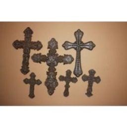 6 Old Spanish Mission Decor, Wall Cross Collection, Cast Iron, Santa Cruz   Etsy (US)