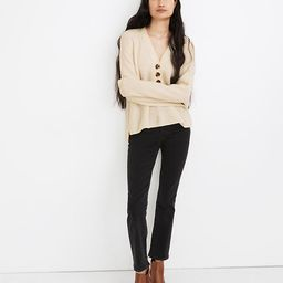 Ribbed Lyle Henley Sweater   Madewell