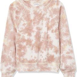 Women's Caroline Raglan Long-Sleeve Fleece Sweatshirt   Amazon (US)