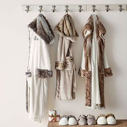 Faux Fur Robes | Pottery Barn (US)