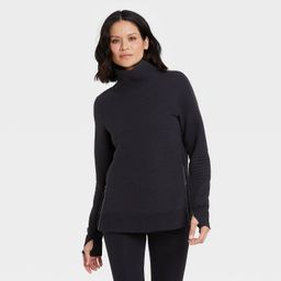 Women's Quilted Pullover with Funnel Neck Collar - All in Motion™   Target