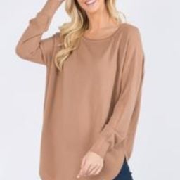 Boatneck Tunic Sweater (4 Colors) | Gunny Sack and Co
