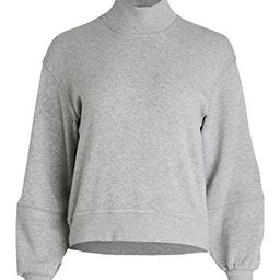 Skylar Mock Neck Pullover Sweatshirt | Shopbop
