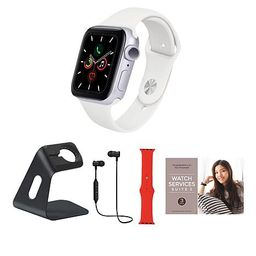 exclusive!                  Apple Watch Series 6 40mm Silver with GPS and Extra Band   HSN