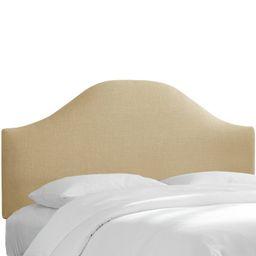 Abernethy Curved Upholstered Panel Headboard | Wayfair North America