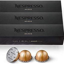 Nespresso Capsules VertuoLine, Melozio, Medium Roast Coffee, 30 Count Coffee Pods, Brews 7.8oz | Amazon (US)