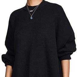 Free People Women's Easy Street Tunic Sweater   Amazon (US)