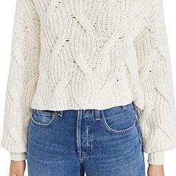Free People Women's Seasons Change Sweater   Amazon (US)