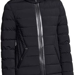 Mackage Women's Farren Fitted Lightweight Down Jacket W/Quilted Detailing | Amazon (US)