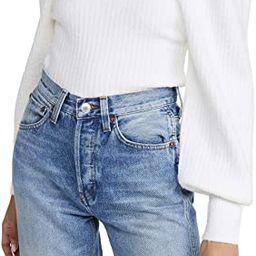 Line & Dot Women's Kimberly Square Neck Ribbed Sweater   Amazon (US)