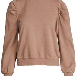 Z SUPPLY Women's Puff Sleeve Sweatshirt   Amazon (US)