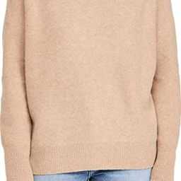 Vince Women's Boiled Cashmere Funnel Neck Pullover   Amazon (US)