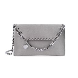 Stella McCartney Women's Mini Falabella Crossbody Bag - Ash Grey | Saks Fifth Avenue
