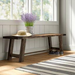 Fahey Wood Bench | Wayfair North America