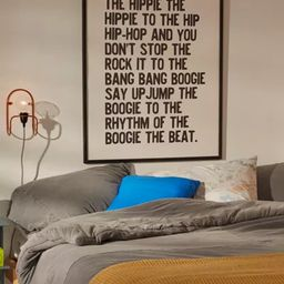 Honeymoon Hotel Rapper's Delight Art Print | Urban Outfitters (US and RoW)