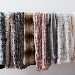 Faux Fur Throws | West Elm (US)