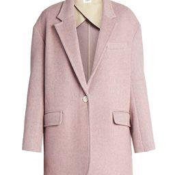 Isabel Marant Etoile Women's Latty Blazer Coat - Light Pink - Size 44 (12) | Saks Fifth Avenue