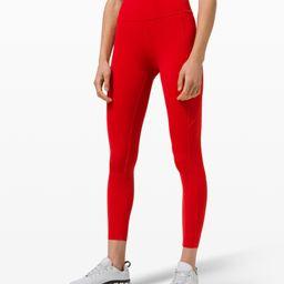 "Fast and Free Tight II 25"" *Non-Reflective Nulux | Women's Running Tights | lululemon | Lululemon (US)"