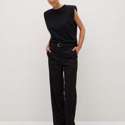 Flowy suit pants | MANGO (US)