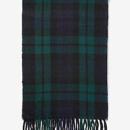 Plaid Woven Scarf | Express