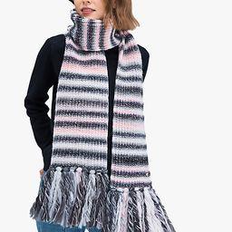 marled stripe scarf | Kate Spade (US)