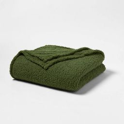 Sherpa Bed Blanket - Room Essentials™   Target