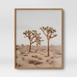 "24"" x 30"" Joshua Tree Framed Print - Threshold™   Target"
