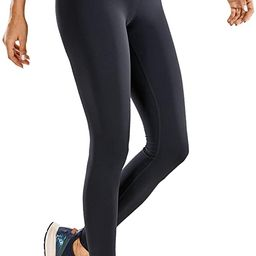 CRZ YOGA Women's Non-See Through Athletic Compression Leggings Hugged Feeling Tummy Control Worko... | Amazon (US)