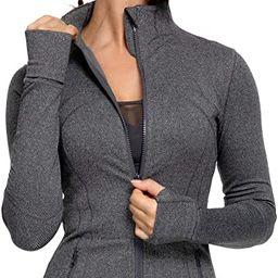 QUEENIEKE Women's Sports Define Jacket Slim Fit and Cottony-Soft Handfeel 60927   Amazon (US)