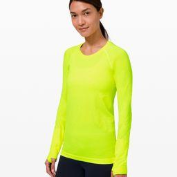 Swiftly Tech Long Sleeve 2.0 | Women's Long Sleeve Shirts | lululemon | Lululemon (US)