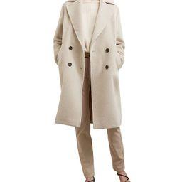 Sandy Double-Breasted Alpaca-Blend Coat | Bloomingdale's (US)