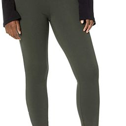 Daily Ritual Women's Ponte Knit Skinny-Fit Legging with Ankle Side Zips | Amazon (US)