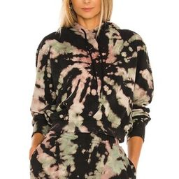 AFRM Sala Hoodie in Earthy Spiral Tie Dye from Revolve.com | Revolve Clothing (Global)