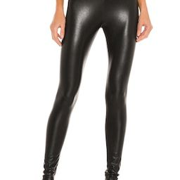 Commando Perfect Control Faux Leather Legging in Black from Revolve.com | Revolve Clothing (Global)
