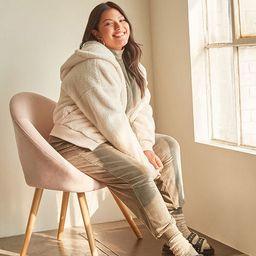 Plus Size Plush Hooded Jacket | Forever 21 (US)