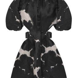 Oxidized Cutout Linen-Blend Mini Dress   Moda Operandi (Global)