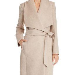 Slick Wrap Coat   Bloomingdale's (US)
