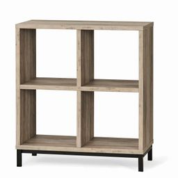 Better Homes & Gardens Square 4-Cube Storage Organizer with Metal Base, Multiple Finishes   Walmart (US)