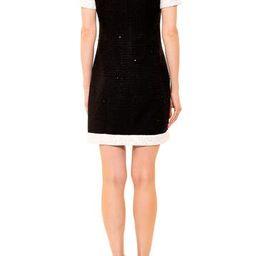 Colorblock Tweed Shift Dress | Nordstrom Rack