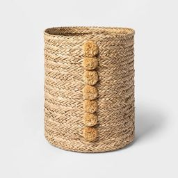 Braided Seagrass Round Basket Natural - Opalhouse™ | Target
